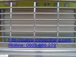 Thi công cửa cuốn song ngang inox 304 tại Hải Châu Đà Nẵng 0905. 856. 279