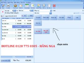 Phần mềm bán hàng đơn giản cho quán cafe