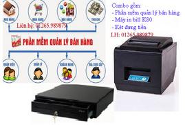 Phần mềm quản lý, máy in bill, két thu ngân - combo giá tốt tại Ninh Kiều