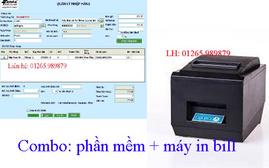 Phần mềm quản lý, máy in hóa đơn - combo bán hàng giá rẻ tại Ninh Kiều