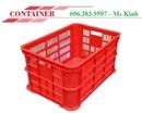 Tp. Hồ Chí Minh: rổ nhựa, sóng nhựa dùng trong may mặc, thùng nhựa đựng hàng CL1703515