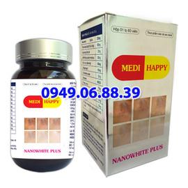 Viên uống làm trắng da, điều trị nám Medi Nanowhite plus -MediWhite