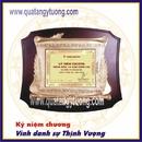 Tp. Hồ Chí Minh: Chuyên làm kỷ niệm chương gỗ đồng, biểu trưng gỗ đồng quà tặng lưu niệm CL1701947