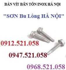 0947.521.058 bán vít bắn tôn inox & Vít tôn thép mạ kẽm SEC rẻ Hà Nội
