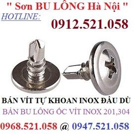 Kim khí THANH SƠN 0913.521.058 bán vít tự khoan Inox & thép rẻ Ha Noi