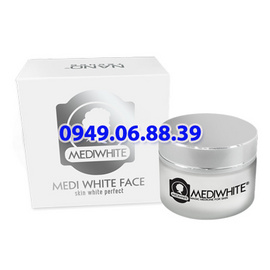 Kem dưỡng trắng da mặt Medi White Face - MediWhite