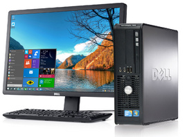 Dell Optiplex 780SFF E8600 4GB 250GB dvd