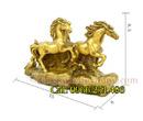 Tp. Hà Nội: Tượng đồng tam mã, tượng ngựa đồng, ngựa phong thủy bằng đồng, tượng ngựa phong th CL1700641