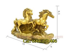 Tượng đồng tam mã,tượng ngựa đồng,ngựa phong thủy bằng đồng, tượng ngựa phong th