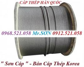 ® Cáp thép Thanh Sơn™ 0947.521.058 Phân phối các loại cáp thép cẩu Hà Nội