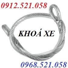 Khoá xe máy dây cáp bọc nhựa 0913.521.058 bán cáp bọc nhựa Hà Nội rẻ