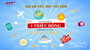 Tp. Hồ Chí Minh: Voucher 1 triệu đồng khi đặt vé máy bay đi Mỹ, Châu Âu, .. CL1702779