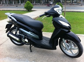 Shark 125cc, như SHi, màu đen, đẹp, 1 chủ, ít đi, 97%