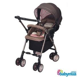 Xe đẩy em bé Aprica Soraria Premium PinkRê để phóng to Xe đẩy em bé Aprica Sora