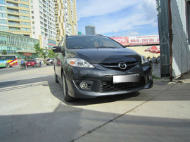 Bán Mazda 5 2. 0AT đăng ký 2011, 655 triệu, màu xám