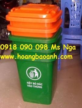 thùng rác nhựa, thùng rác composite, thùng rác 15 lít, 20 lít, 60 lít, 90 lít .. .