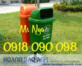 chuyên bán thùng rác cố định , thùng rác treo , thùng rác composite