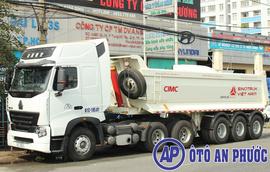 Romooc ben Cimc 24 khối nhập khẩu