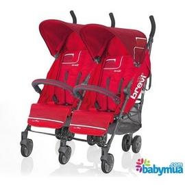 Xe đẩy đôi Brevi Marathon BRE764-003 Red