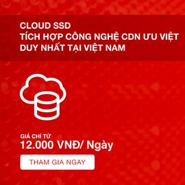 VPS SSD tích hợp công nghệ CDN giá rẻ tại TP. HCM