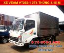 Tp. Hồ Chí Minh: Xe tải Veam 2. 4 tấn VT252-1 vào TP Máy Hyundai Thùng 4. 15 mét Giá tốt Miền Nam CL1700853