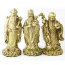 Tp. Hà Nội: Tượng đồng tam đa Phúc Lộc Thọ, Phước Lộc Thọ, bộ tượng tam đa cỡ nhỏ 18. 5cm, tư CL1288227