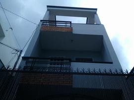 Nhà 205/ 41 Phạm Văn Chiêu, phường 9, Gò Vấp, HXH 6m, 4x15m, 1 Trệt+ 2 lầu, 4PN