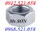 [2] Bán đai ốc ren mịn M10 mạ kẽm Hà Nội 0912.521.058 bán ê cu ren mịn M10