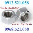 Tp. Hà Nội: Bán đai ốc ren mịn M10 mạ kẽm Hà Nội 0912. 521. 058 bán ê cu ren mịn M10 CL1700874