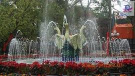 Đài phun nước vườn thủ lệ