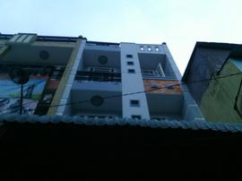 Nhà Bán Hẻm 672 Thống Nhất, Phường 15, Gò Vấp, 4. 3x12m, 1Trệt+2Lầu, 4PN, Đông