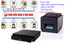 Phần mềm bán hàng, máy in bill, két thu ngân tại Bình Thủy