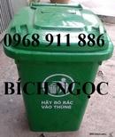 Tp. Hồ Chí Minh: Thùng rác công cộng, thùng rác 2 bánh xe, thùng rác nhựa HDPE, 60l, 90l, 120l, 240 CL1700329