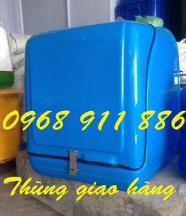 Thùng chở hàng, thùng giao nước, thùng giao cơm, thùng giao trái cây