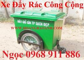 Xe đẩy rác ,xe rác 660l, 1000l, thùng đựng rác các loại 60l, 90l, 120l, 240l