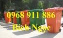 Tp. Hồ Chí Minh: Thùng rác công nghiệp, thùng rác nghiệp, xe đẩy rác 660l, 1000l CL1700424