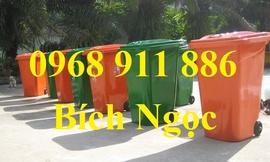 Thùng rác công nghiệp, thùng rác nghiệp, xe đẩy rác 660l, 1000l