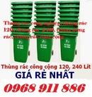 Tp. Hồ Chí Minh: Xe đẩy rác ,xe quét rác, xe rác 660l, xe rác 1000l 3 bánh lớn, xe gom rác giá rẻ CL1700424