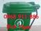[4] Xe thu gom rác, xe rác công nghiệp nhựa composite giá rẻ, thùng rác gia đình