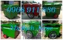 Tp. Hồ Chí Minh: Xe thu gom rác, xe rác công nghiệp nhựa composite giá rẻ, thùng rác gia đình CL1700422