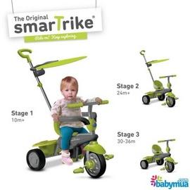 Xe đạp Smart- Trike cảm ứng Carnival 3 in 1 Xanh