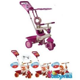 Xe đạp 3 bánh Smart -Trike cảm ứng Flamingo