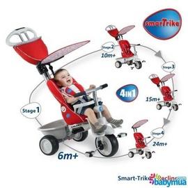 Xe đạp 3 bánh trẻ em Smart-Trike Recliner 4 in 1