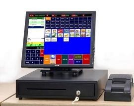 Bộ tính tiền cảm ứng giá rẻ cho nhà hàng TẶNG phần mềm tại ô môn