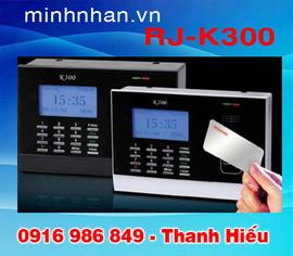 máy chấm công bằng thẻ cảm ứng rẻ nhất, tặng thẻ khi mua máy