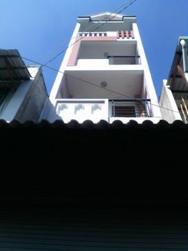 Nhà 439/ 16 Cây Trâm, Phường 8, Gò Vấp, HXH 5m Thông, 3. 5 x 11m, 1 trệt+ 3 lầu,