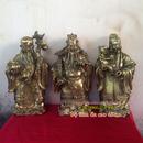 Tp. Hà Nội: Tượng đồng tam đa, bộ tượng tam đa KT 45cm, ba ông Phúc Lộc Thọ, Phước Lộc Thọ, CL1701654