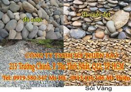 Phân phối Đá cuội vàng, đá cuội sân vườn Vị Thanh