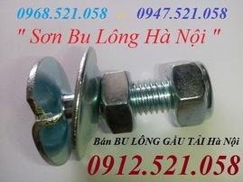 Bulông Gầu tải M10 xi trắng bán Hà Nội 0912.521.058 bán bu lông Quả Bàng
