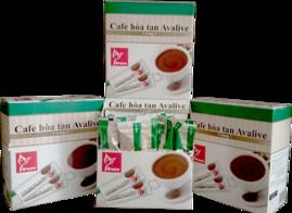 Mua 2 hộp Cafe Avalive tặng 2 bộ Dao Muỗng Nĩa